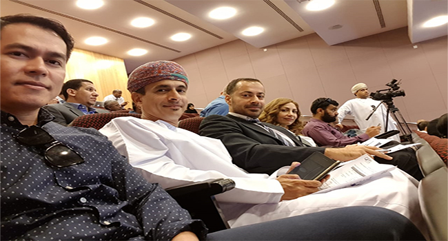 CED attends symposium on highlighting change in Sultan Qaboos University 11-13 November, 2018